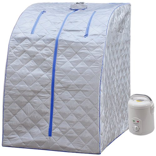 7. Durherm Portable Personal Folding Home Steam Sauna
