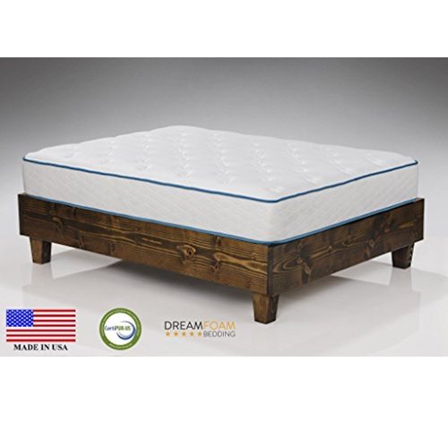 1. Dreamfoam Bedding Arctic Dreams 10-Inch Cooling Gel Mattress