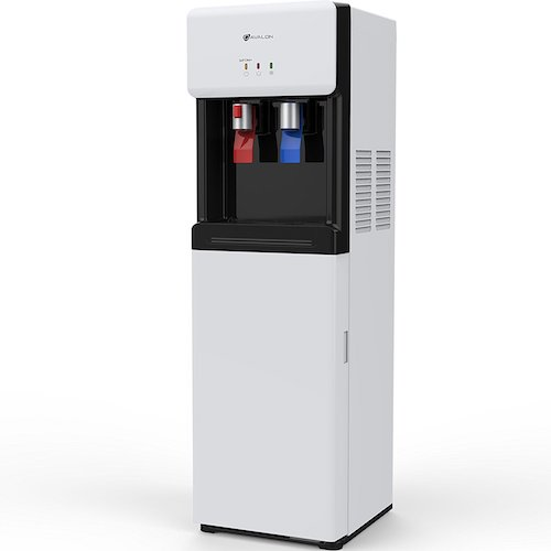 9. Avalon A6BLWTRCLRWHT Self Cleaning Bottom Loading Water Cooler Dispenser, White