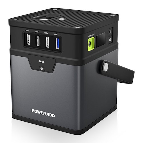 9. Poweradd ChargerCenter, Compact 185Wh/50000mAh Portable Generator