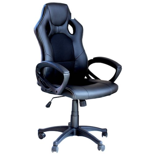9. EBS- Video Gaming Chair Home Office Computer Chair With Height Adjustable Ergonomic Lumbar Support Mesh High Back Racing Chair