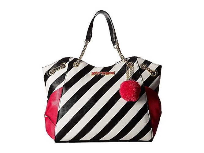 6. Betsey Johnson Womens Side Bow Tote