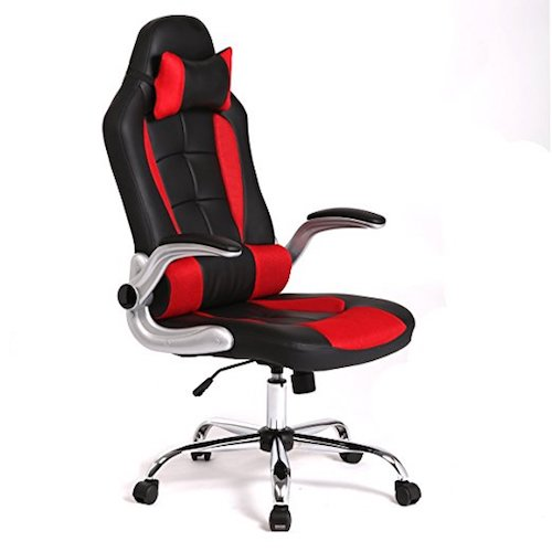 5. New High Back Race Car Style Bucket Seat Office Desk Chair Gaming Chair -