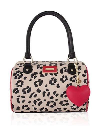 3. Betsey Johnson Womens Satchel