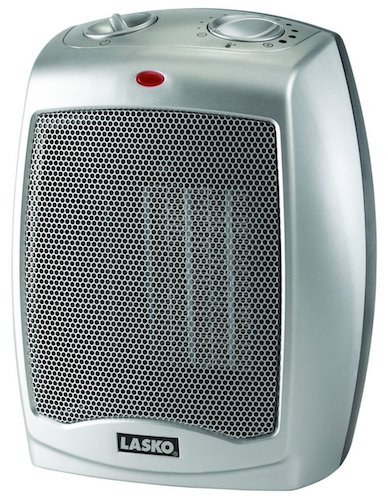 10. Lasko 754200 Ceramic Heater with Adjustable Thermostat