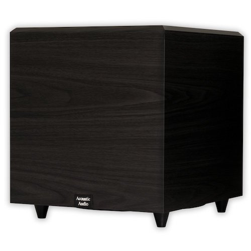 5. Acoustic Audio PSW-12 500 Watt 12-Inch Down Firing Powered Subwoofer (Black)