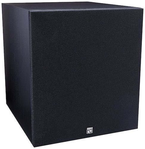 1. BIC America F12 12-Inch 475-Watt Front Firing Powered Subwoofer