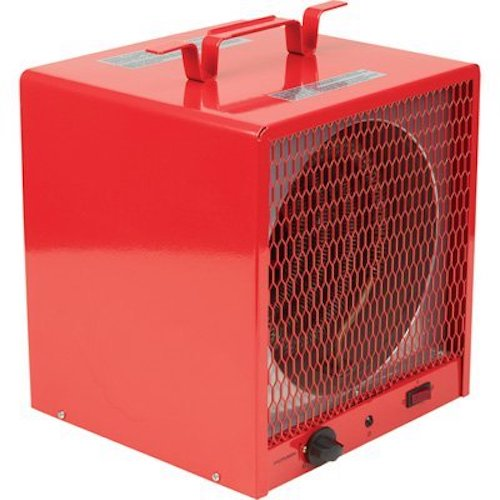 10. ProFusion Heat Industrial Fan-Forced Heater - 5,600 Watts, 19,000 BTU, 240 Volt, Model# PH936