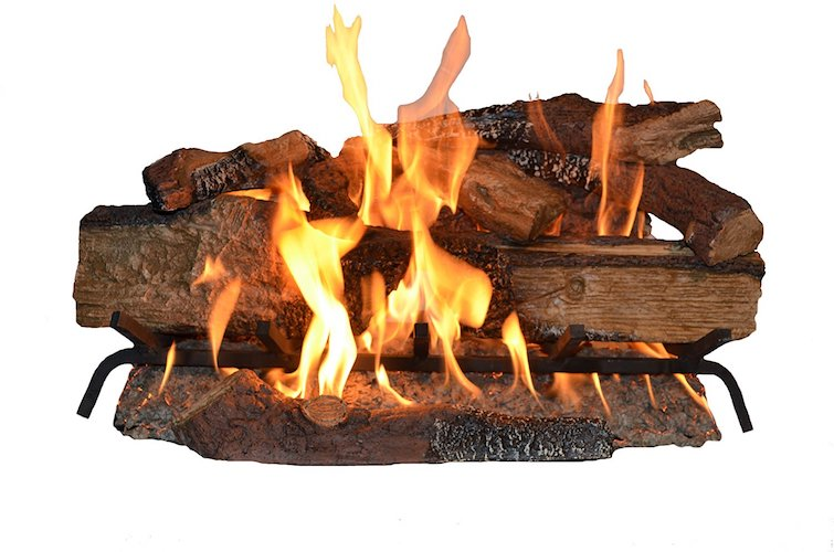 3. SureHeat CS30DBNG Realistic Vented Gas Log Set