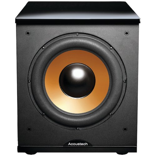 8. BIC America H-100II 12-Inch 150 Watt Front Firing Powered Subwoofer, (Black)