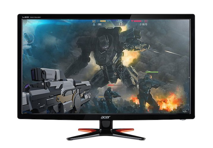 3. Acer GN246HL Bibi 3D Gaming Display (144Hz Refresh Rate)