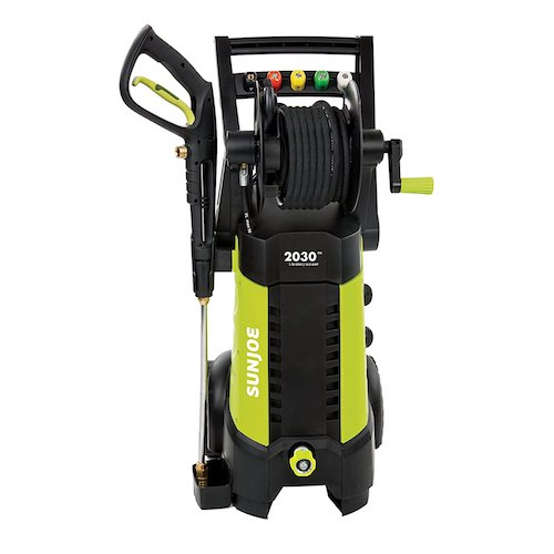 3. Sun Joe SPX3001 2030 PSI 1.76 GPM 14.5 AMP Electric Pressure Washer
