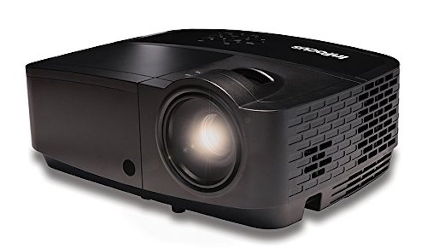 6. InFocus Corporation IN128HDx 1080p DLP Network Projector, HDMI, 4000 Lumens