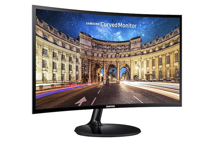 9. Samsung C24F390 24-Inch Curved Monitor (Super Slim Design)