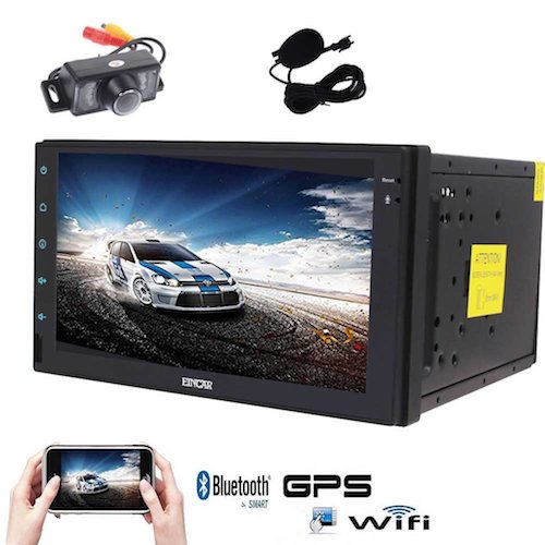 3. Android 6.0 Car Stereo with Quad Core EinCar GPS Car Radio
