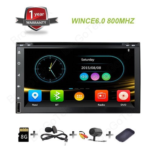 5. BroGoTek Headunit Car DVD Player