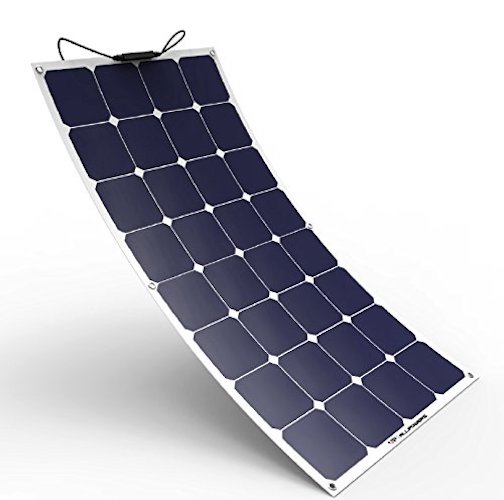 1. ALLPOWERS Solar Panel 100W 18V 12V Bendable Flexible Solar Charger Lightweight SunPower Solar Module