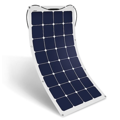 5. Suaoki 100W 18V 12V Solar Panel Charger SunPower Cell Ultra-Thin Flexible