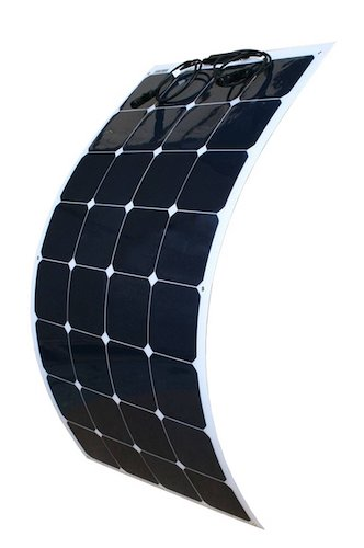 3. WindyNation 100W 100 Watt 12V Bendable Flexible Thin Lightweight Solar Panel