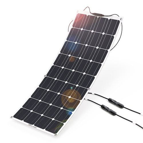 10. Solar Panel 12V 100W ALLPOWERS Solar Panel Charger Monocrystalline Lightweight Flexible