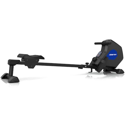 10. Merax Indoor Magnetic Rowing Machine Folding Exercise Rower