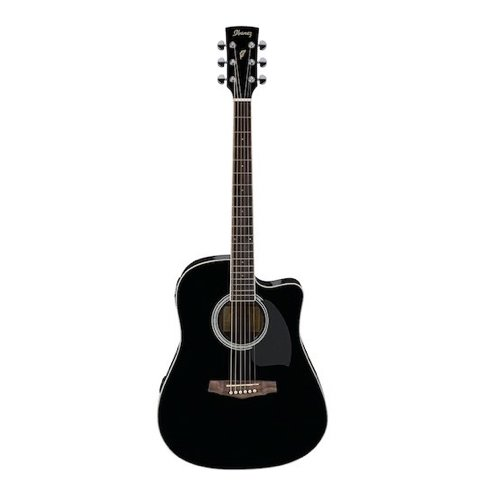 8. Ibanez PF Series PF15ECE Dreadnought Cutaway Acoustic-Electric Cutaway Guitar