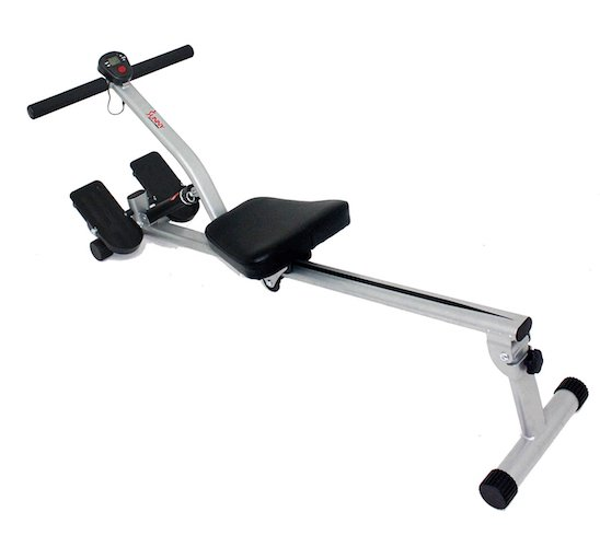 3. Sunny Health & Fitness SF-RW1205 12 Adjustable Resistance Rowing Machine