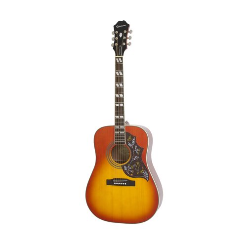 4. Epiphone HUMMINGBIRD PRO Solid Top Acoustic/Electric Guitar