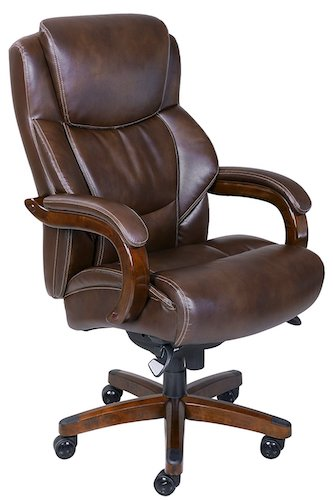 1. La-Z-Boy Delano Big & Tall Executive Bonded Leather Office Chair