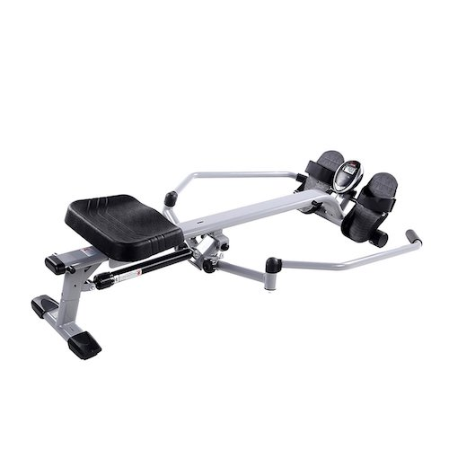 2. Sunny Health & Fitness SF-RW5639 Full Motion Rowing Machine