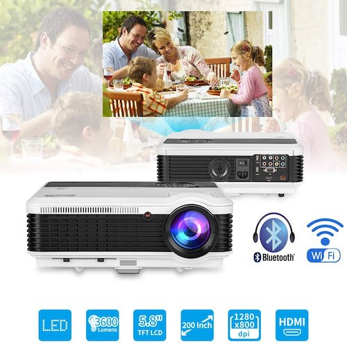 4. EUG Android Bluetooth LCD Projector