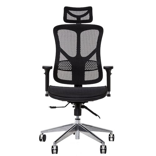 10. KHALZ Premium Full Mesh Back & Extra Wide Seat, High Back Ergonomic Executive Managers Chair