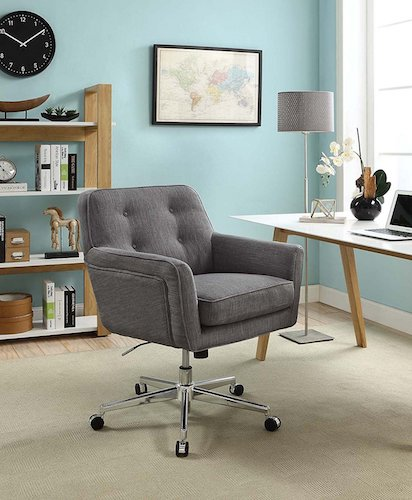 6. Serta Style Ashland Home Office Chair