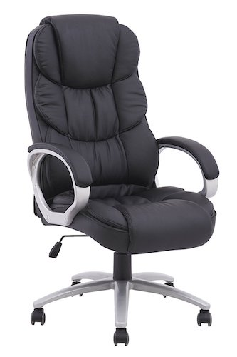 5. BestOffice Ergonomic PU Leather High Back Office Chair