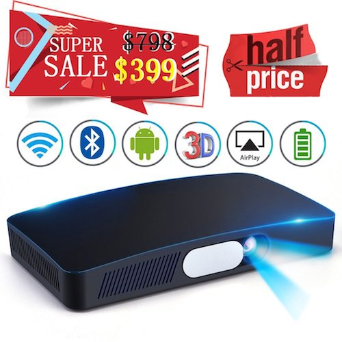 6. Touying Mini HD 3D Projector