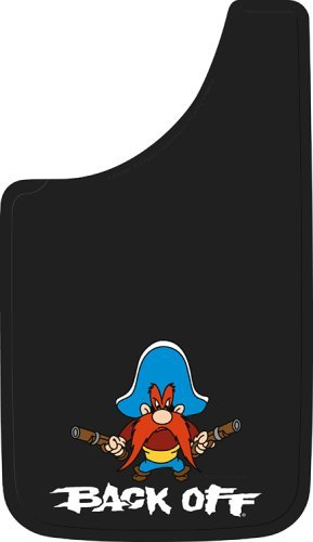 5. Plasticolor 000502R01 Yosemite Sam Back Off Easy Fit Mud Guard 11