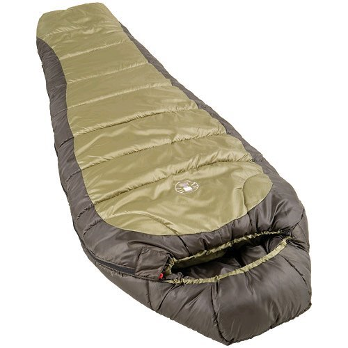 6. Coleman North Rim Adult Mummy Sleeping Bag