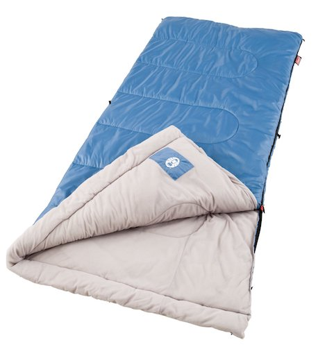5. Coleman Sunridge 40-60 Degree Sleeping Bag