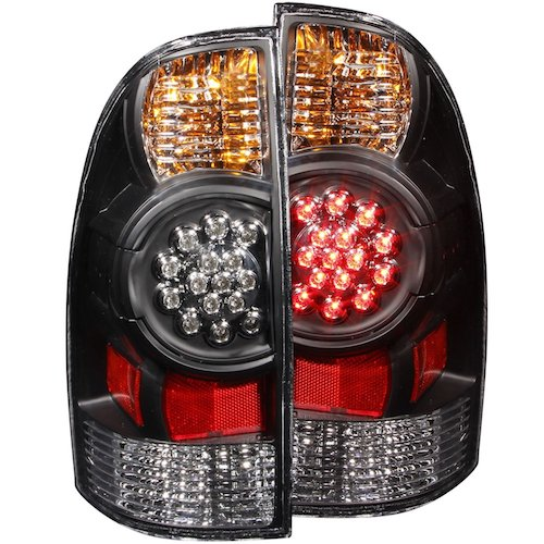 7. Anzo USA 311042 Toyota Tacoma Black LED Tail Light Assembly - (Sold in Pairs)