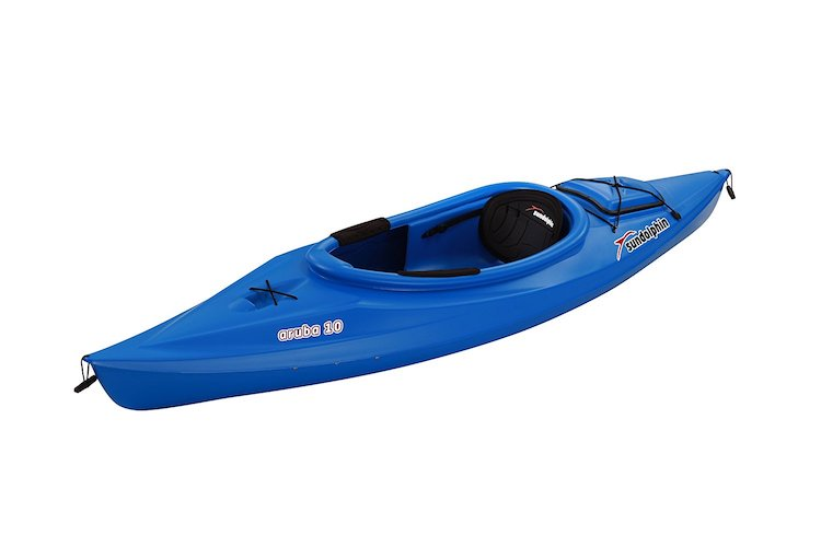 1. Sun Dolphin Aruba 10-Foot Sit-in Kayak