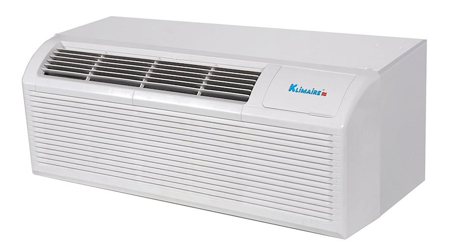4. Klimaire 12000 Btu PTAC Heat Pump Air Conditioner