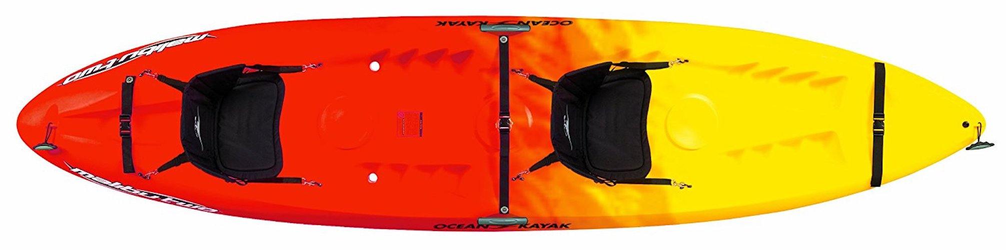 4. Ocean Kayak 12-Feet Malibu Two Tandem Sit-On-Top Recreational Kayak