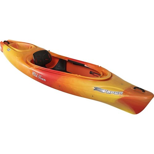 2. Old Town Canoes & Kayaks Vapor 10 Recreational Kayak