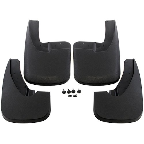 6. Premium Heavy Duty Molded Splash Guards Mud flaps for 2009-2018 Dodge Ram 1500 (With OEM Fender Flares) & 2010-2018 Dodge Ram 2500/3500 (With OEM Fender Flares) Front and Rear 4 piece Set