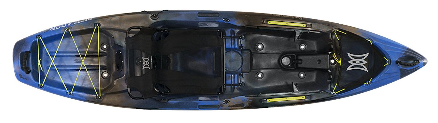 9. Perception Pescador Pro Sit on Top Kayak for Fishing