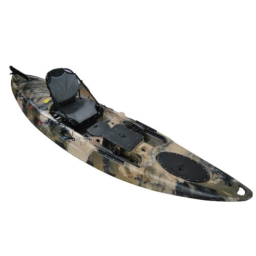 10. BKC UH-RA220 11.5-foot Angler Sit on Top Fishing Kayak