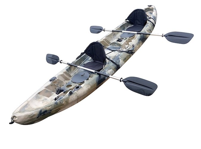 8. BKC UH-TK219 12-foot Tandem Sit on Top Kayak 2 or 3 person