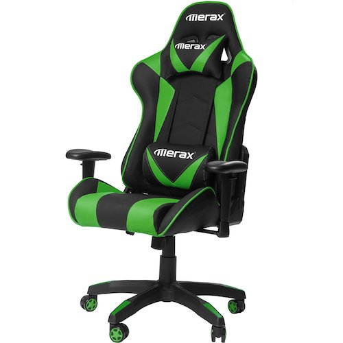 8. Merax Gaming Chair High Back Computer Chair Ergonomic Design Racing Chair