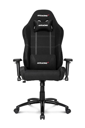 7. AKRacing K-7 Series Premium Gaming Chair with High Backrest, Recliner, Swivel, Tilt, Rocker and Seat Height Adjustment Mechanisms with 5/10 warranty