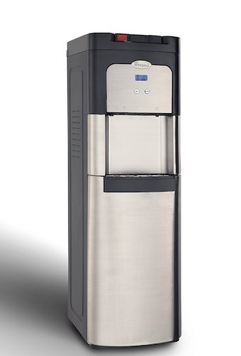 Best Bottom Load Self-Cleaning Water Dispensers: 6. Whirlpool Self Cleaning, Bottom Loading Commercial Water Cooler, Digital Temperature Control, Ice Chilled Water, Steaming Hot, Full Stainless Steel Water Dispenser